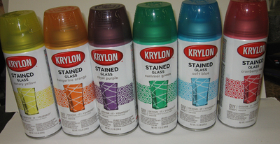 Krylon Stained Glass Paint.Krylon Stained Glass Yellow Glasses Blog