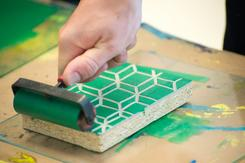 Screen & Block Printing